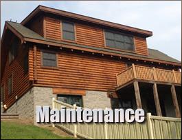 Log Home Maintenance  Clark County, Ohio