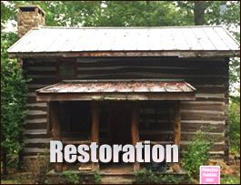 Log Cabin Restoration  Clark County, Ohio